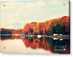 Lake Norman North Carolina Acrylic Print by Kim Fearheiley