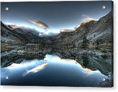 Lake Sabrina Bishop Ca Acrylic Print by Joe  Palermo
