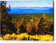 Lake Tahoe Acrylic Print by Wingsdomain Art and Photography