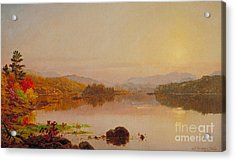 Lake Wawayanda Acrylic Print by Jasper Francis Cropsey