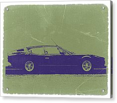 Lamborghini Espada Acrylic Print by Naxart Studio