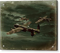 Lancaster Mission Acrylic Print by Steven Agius