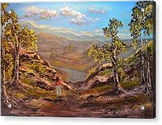 Land Like No Other  Acrylic Print by Michael Mrozik