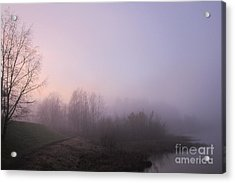 Land Of Mist And Legend Acrylic Print by Michelle Meer