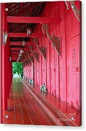 Langkawi Summer Palace Acrylic Print by Graham Taylor
