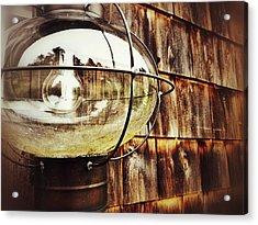 Lantern Acrylic Print by Olivier Calas