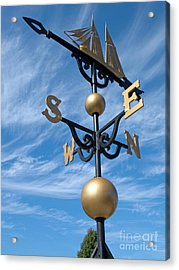 Largest Weathervane Acrylic Print by Ann Horn