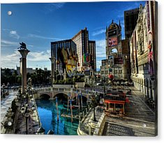 Las Vegas 028 Acrylic Print by Lance Vaughn