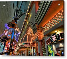 Las Vegas 058 Acrylic Print by Lance Vaughn