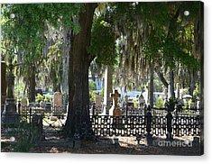 Laurel Grove Cemetery - Savannah Georgia Acrylic Print by Randy Edwards