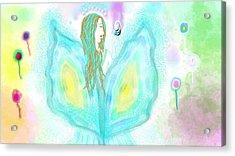 Leelavy Fairy / Fada Leelavy Acrylic Print by Rosana Ortiz