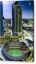 Legoland Dallas I Acrylic Print by Ricky Barnard