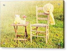 Lemonade Acrylic Print by Darren Fisher