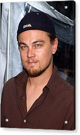 Leonardo Dicaprio Arrives Acrylic Print by Everett