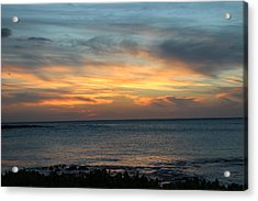 Let The Light  Acrylic Print by Raquel Amaral