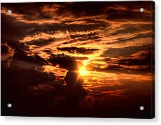 Let There Be Light Acrylic Print by Joetta West