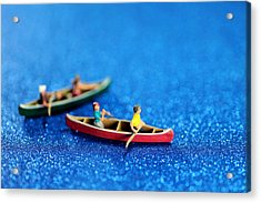 Let's Boating Together Acrylic Print by Paul Ge