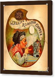 Levering's Roasted Coffee Acrylic Print by Anne Kitzman