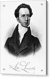 Levi Lincoln (1749-1820) Acrylic Print by Granger