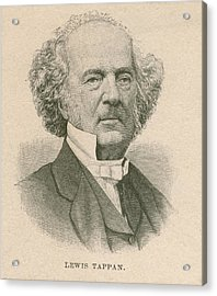 Lewis Tappan 1788-1873, Wealthy Acrylic Print by Everett