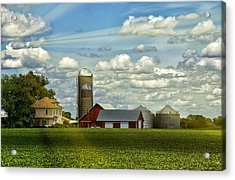 Light After The Storm Acrylic Print by Bill Tiepelman