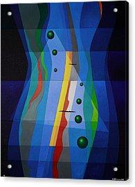Like A River Acrylic Print by Alberto D-Assumpcao