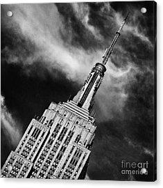 Like A Rocket Ship Heading To The Moon Acrylic Print by John Farnan