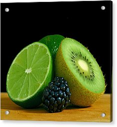 Lime It Up Acrylic Print by Davor Sintic