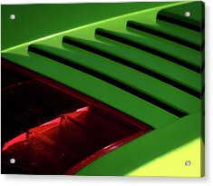 Lime Light Acrylic Print by Douglas Pittman