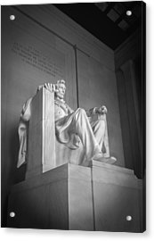 Lincoln Memorial  Acrylic Print by Mike McGlothlen