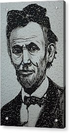 Lincoln Acrylic Print by Pete Maier