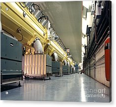 Linear Accelerator Linac Acrylic Print by Science Source