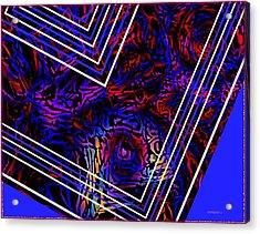 Lines And Tones Acrylic Print by Mario Perez