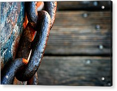 Linked Acrylic Print by Shane Rees