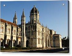 Lisbon, Portugal - Monasterio De Los Jerónimos De Acrylic Print by David Min