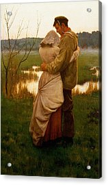 Listed Acrylic Print by William Henry Gore
