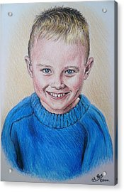 Little Boy Commissions Acrylic Print by Andrew Read
