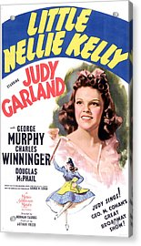 Little Nellie Kelly, Judy Garland, 1940 Acrylic Print by Everett