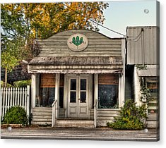 Little Old Shop Acrylic Print by Andrew Crispi