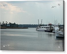 Little River Scenic Iv Acrylic Print by Suzanne Gaff