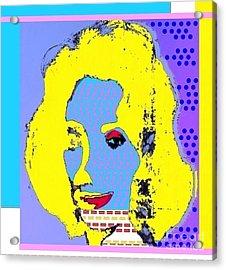LIZ Acrylic Print by Ricky Sencion
