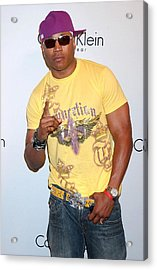 Ll Cool J At Arrivals For The Calvin Acrylic Print by Everett