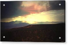 Lluvia De Bendigas  Showers Of Blessings- Acrylic Print by Anastasia Savage Ealy