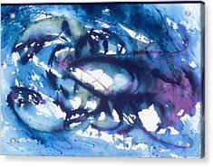Lobster Acrylic Print by Edi Holley