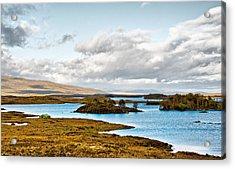 Loch Ba View Acrylic Print by Chris Thaxter