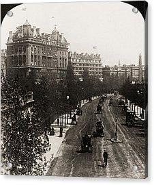 London: Embankment, 1908 Acrylic Print by Granger