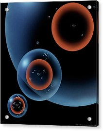Lonely Universe Acrylic Print by Don Dixon
