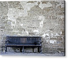 Benches Acrylic Print featuring the photograph Long Wait by Roberto Alamino