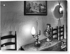 Longfellows Wayside Inn Acrylic Print by Lee Fortier