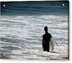 Looking For The Big One Acrylic Print by Laurie Search
